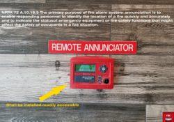 remote annunciator
